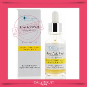 The Organic Pharmacy Four Acid Peel 30ml 1oz NEW FAST SHIP