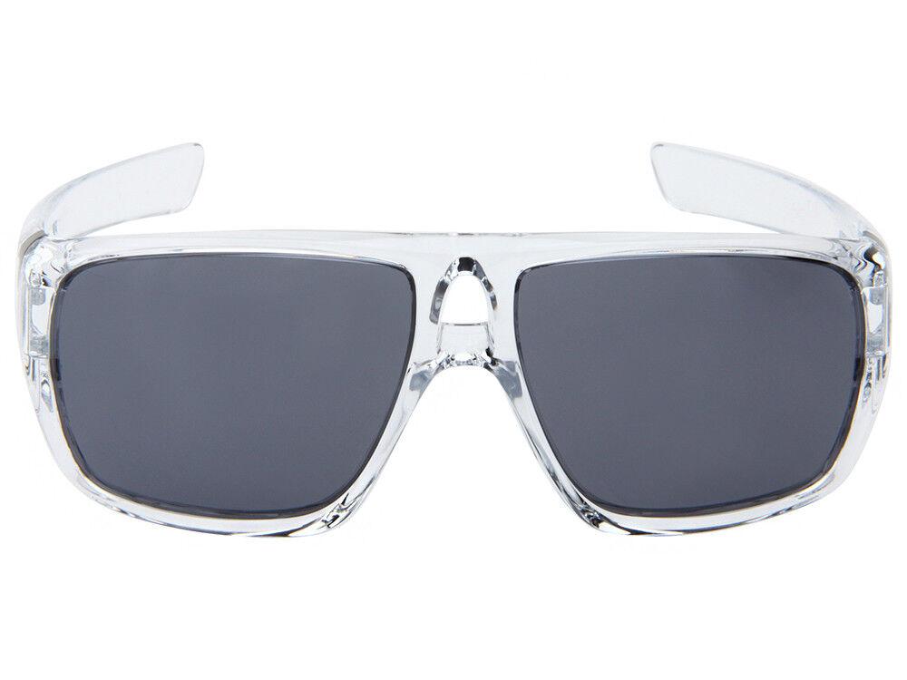 1d8e89a1b5 Oakley DISPATCH Aviator Sunglasses - Polished Clear Frame Grey ...