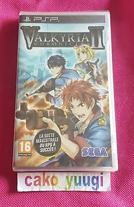 VALKYRIA-CHRONICLES-II-SONY-PSP-NEUF-SOUS-BLISTER-VERSION-FRANCAISE