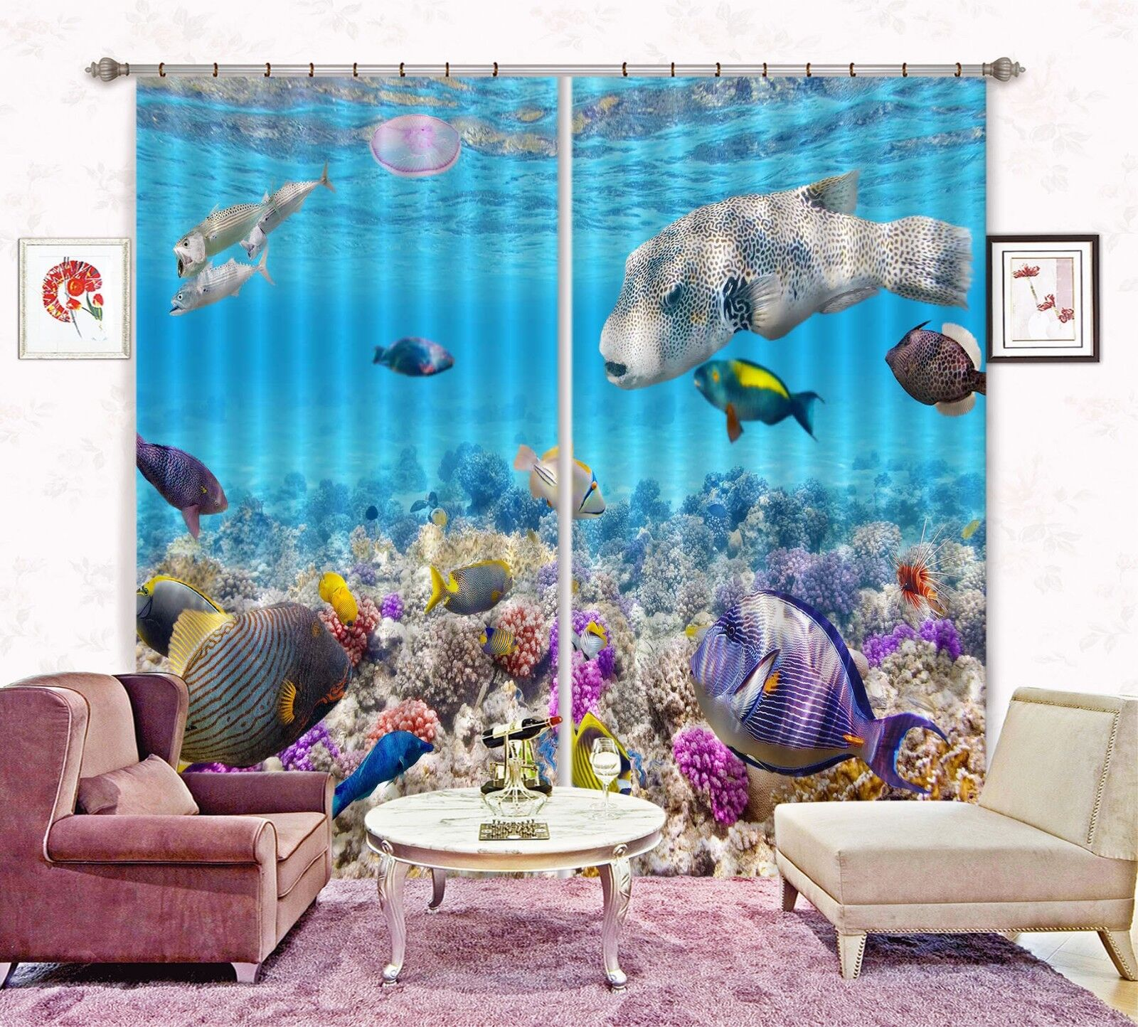 3d lluvial riff bloqueo 67 cortina de fotografía presión cortinas cortina de tela de ventana