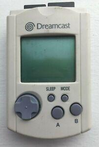 Sega-Dreamcast-Visual-Memory-Unit-VMU-Memory-Card-HKT-7000-White-CLEANED-TESTED