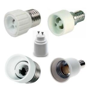 Adapter-Fassung-E27-GU10-E14-GU10-E27-E14-E14-E27-Keramik-Lampen