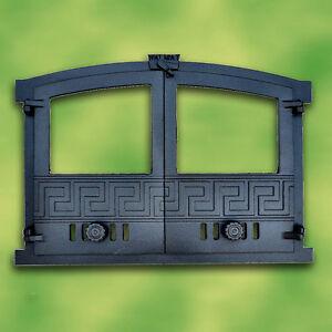 Puerta de horno hierro fundido con cristal seguridad 2 for Horno de hierro fundido