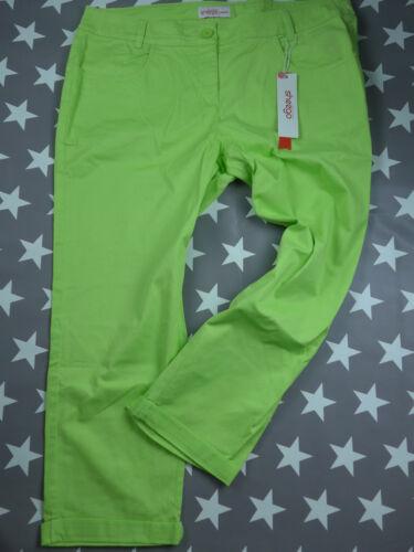 NUOVO 092 322 42-58 Lime tono Sheego 7//8 Pantaloni mis