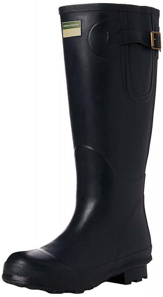 Town and Country UK Size 7 The Bosworth Deluxe Wellington Boots - Navy bluee