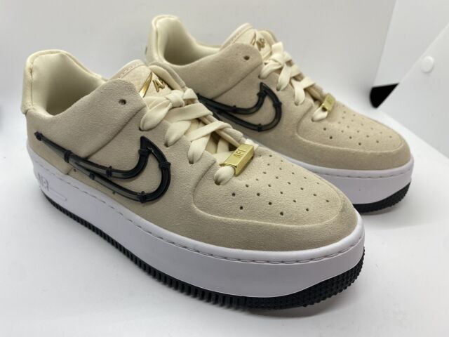 Size 5 - Nike Air Force 1 Sage Low LX Cream for sale online   eBay