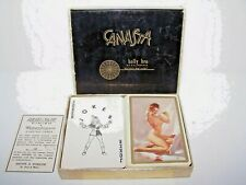 Risque Pin-Up Cheesecake Canasta Playing Cards 2 Decks Complete Remembrance