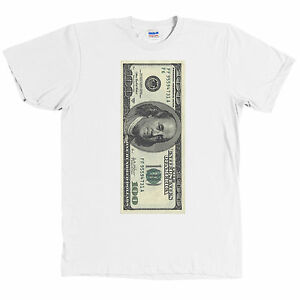 Image Is Loading One Hundred Dollar Bill Usd T Shirt 100