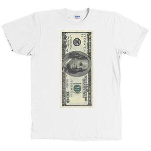 One Hundred Dollar Bill Usd T Shirt 100 Benjamin Franklin