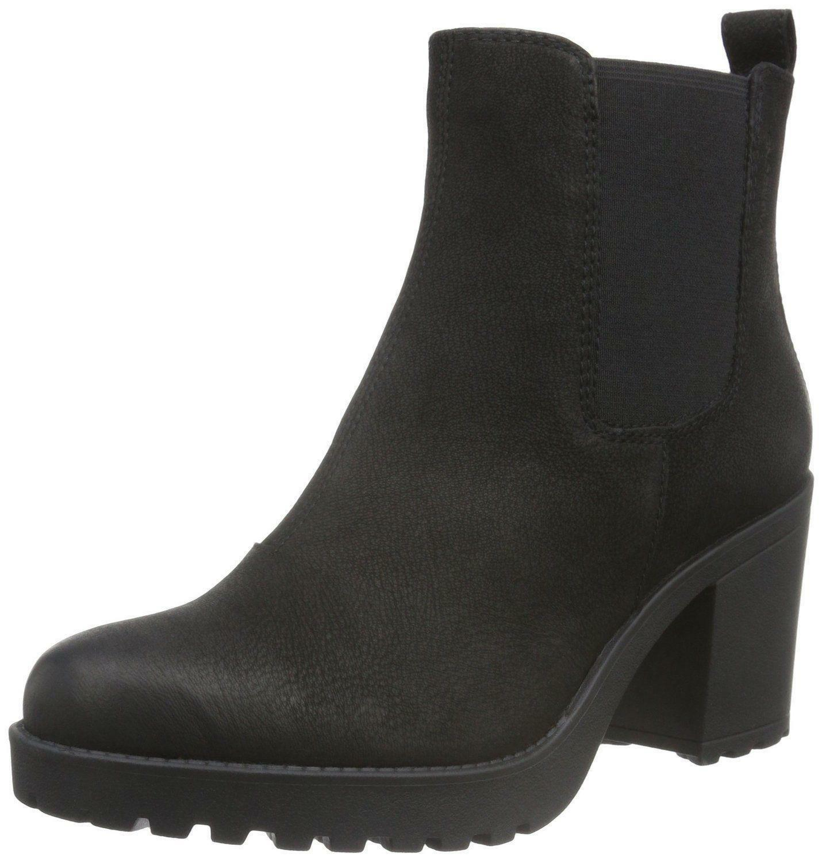 New Vagabond Grace Ladies Black Nubuck Leather Womens Ankle Ankle Ankle Boots Size UK 3-8 4ad00e