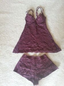 Perla malizia In La Made Italy Set bordeauxrood Camisole Stretchkant 5dSSqw