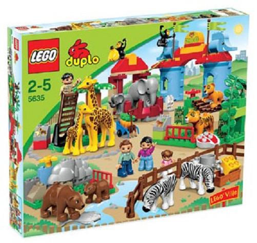 incredibili sconti LEGO LEGO LEGO 5635 DUPLO-gree città Zoo GReE ZOO NUOVO OVP  il più alla moda
