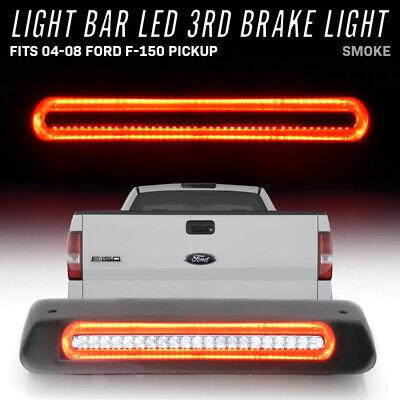 2004-2008 Ford F150 LOBO LED Third Brake Rear Tail Lights Cargo Cab Lamps SMOKE