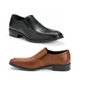 Men/'s APT 9 SHANE 176490 Comfortable Slip-On Dress Shoes Black  8.5 New!