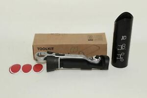 BROMPTON Multifunction Puncture Repair Spanner Ratchet Bicycle Tool Kit NEW