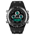 Infantry IN-081-BLK-R 50mm Black Dial Black Silicone/Rubber Strap Wrist Watch for Men