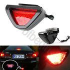 Car Motorbik Blinker 12 LED Third Brake Tail Reverse Lamp Strobe Light F1 Style