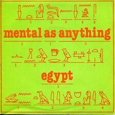 """MENTAL AS ANYTHING  - 7""""  Egypt / Pork Is Not A Gift  (UK / Virgin VS348 / 1980)"""