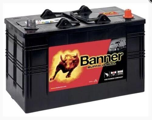 BANNER BUFFALO BULL COMMERCIAL BATTERY 61047 12V 110AH TYPE 663