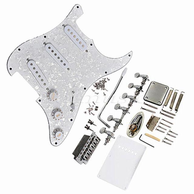 Loaded Pickguard with Pickup Tuner Set for Stratocaster Strat Guitar Parts SSS