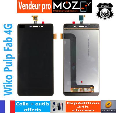 ECRAN LCD VITRE TACTILE SMARTPHONE WIKO PULP FAB 4G (NOIR) COLLE/OUTILS OFFERTS | eBay