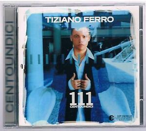 Tiziano Ferro 111 Centoundici Cd Ebay