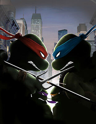 A0 A1 A2 A3 A4 Sizes Ninja Turtles TMNT Giant Poster