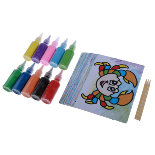 1 Set Handmade Sand Painting Kits for Kids Friends Presents
