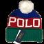 New-Polo-Ralph-lauren-men-pom-pom-beanie-hat-one-size miniature 1