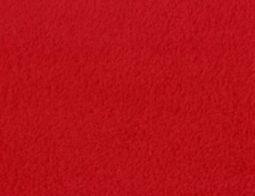 """Fleece Solid Polar Fleece Fabric Red Sold By Yard 60/"""" Wide Blanket clothes cozy"""