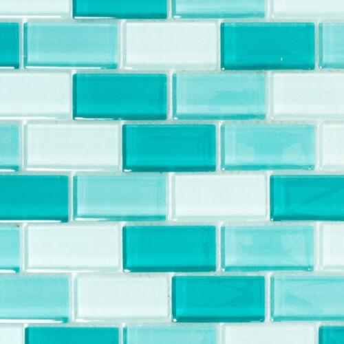 Glasmosaik Vert Clair Turquoise Mix WC Mur Cuisine piscine douche art:wb76-06021 de coffre