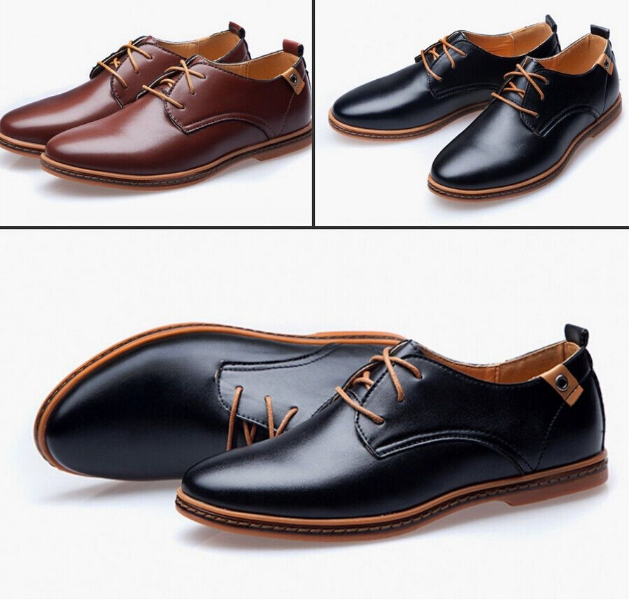 2018 HOT! high-end business casual shoes men's shoes leather shoes shoes leather big yards 1718ec