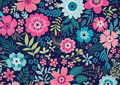 A1Pretty Garden Flower Theme Poster Art Print 60 x 90cm 180gsm Vintage #14275