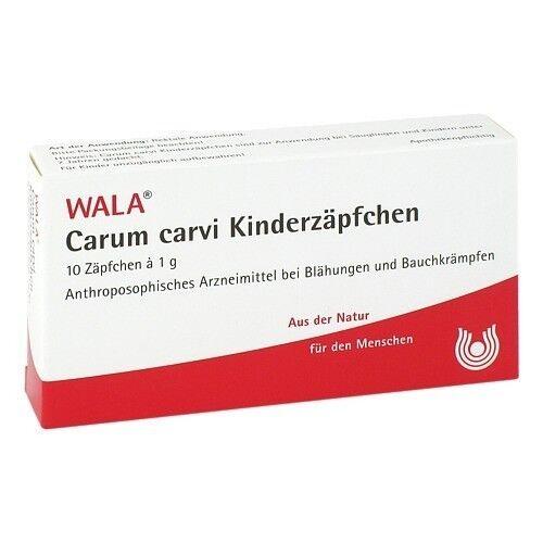 CARUM CARVI Kinderzaepfchen 10X1 g PZN 01448004