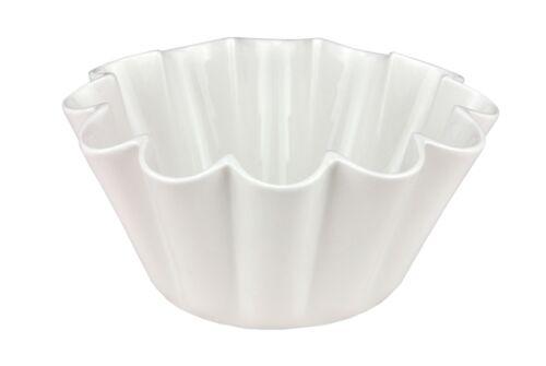 Arezzo Puddingschüssel weiß 18cm Dessertschale Puddingschale Schüssel Schale