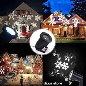 Proiettore Luci Natalizie Per Esterno Ebay.Proiettore Luci Di Natale Faro Laser Luci Natale Natalizio Addobbo Immagini Ebay
