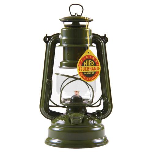 FEUERHAND® Sturmlaterne 276 BW olive Petroleumlampe Petroleum Laterne
