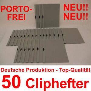 Mappen für Bewerbung Schwarz 100 Cliphefter Bewerbungsmappen Klemmhefter