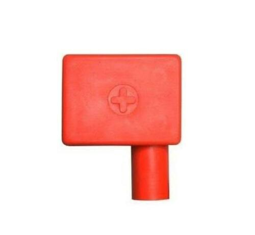 Anti Corrosive Red Classic Car Battery Terminal Cover Left Single Positive