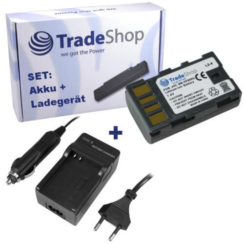 Batería + CARGADOR para JVC gz-mg-630 gz-mg-630-seu gz-mg-630-reu gz-mg-630-aeu
