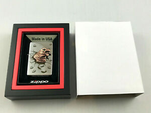 ZIPPO-Limited-Golden-Eagle-Adler-Feuerzeug-lighter-limitiert-1000-Stk