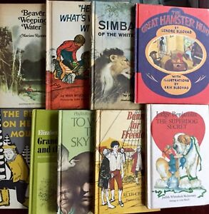 Weekly-Reader-Children-039-s-Book-Club-Lot-of-9-Rumsey-Arundel-Dalgliesh-Chessman