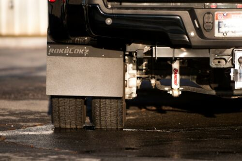 ROKBLOKZ  Dually Mud Flaps Ford F-450 SUPER DUTY 2017-2019 Made in USA set Of 4