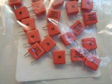 //-5/% 630 V PETP Capacitors K73-17 Lot of 100 0.022uF New