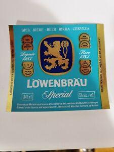 Lowenbrau-Special-341ml-beer-label-La-Brasserie-Molson-Canada