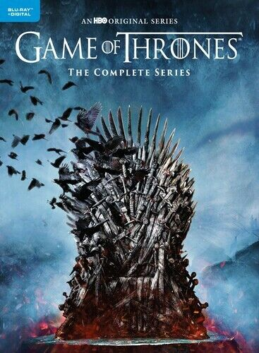 GAME OF THRONES (COMPLETE) • BLURAY • REGION FREE • NEW • FREE SHIPPING