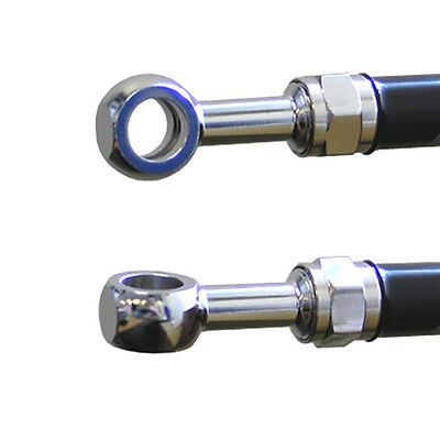 10mm 3//8 Straight Chrome Venhill Powerhose Plus Banjo Fitting