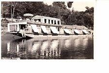 Mahatta Srinagar, India Royal Palace Floating Restaurant RPPC 1940s