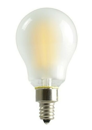 KICHLER COLLECTION LED LIGHT BULB 60W A15C CANDELABRA BASE SOFT WHITE 6 pack