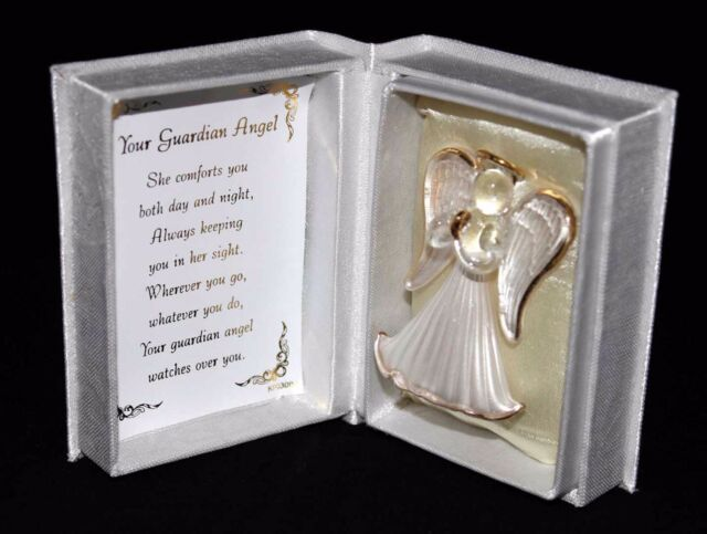 CHRISTENING BABY GIRL BOY GUARDIAN ANGEL BOX creative Personalised Gift CG4